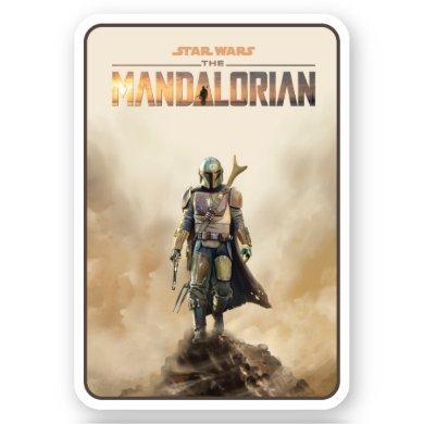 The Mandalorian | Fierce Warrior Poster Sticker