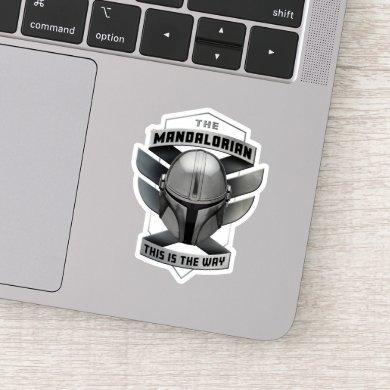 The Mandalorian | This Is The Way Helmet Badge Sticker