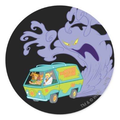 The Mystery Machine Escape Classic Round Sticker