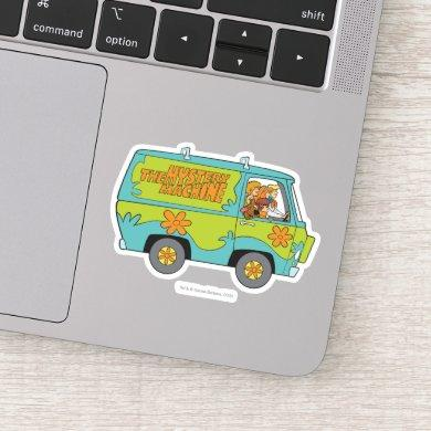 The Mystery Machine Right Side Sticker