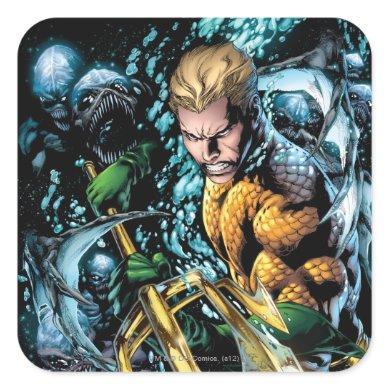 The New 52 - Aquaman #1 Square Sticker