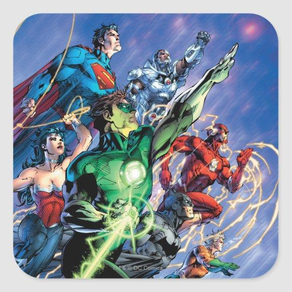 The New 52 Cover #1 3rd Print Square Sticker