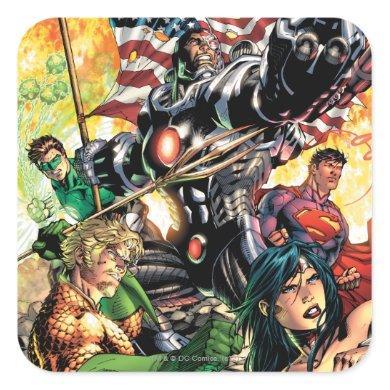 The New 52 Cover #5 Square Sticker