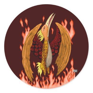 The Phoenix Stickers