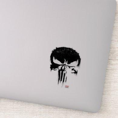 The Punisher | Painted Skull Logo Sticker