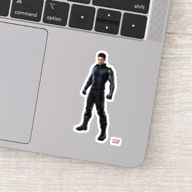 The Winter Soldier Character Art Sticker