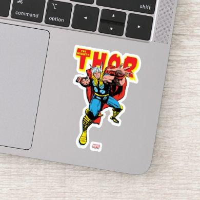 Thor Swing Back Mjolnir Sticker