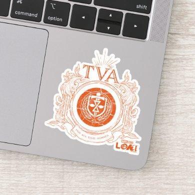 Time Variance Authority Crest Sticker