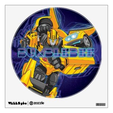 Transformers | Bumblebee Neon Lights Badge Wall Decal