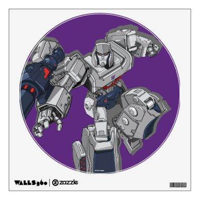 Transformers | Megatron Leaping Pose Wall Decal