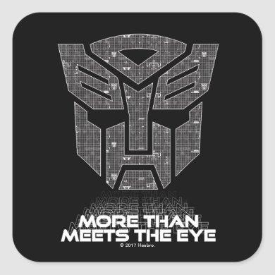 Transformers | More than Meets the Eye Square Sticker
