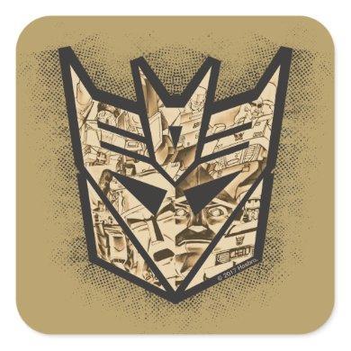 Transformers   Reveal the Shield Square Sticker
