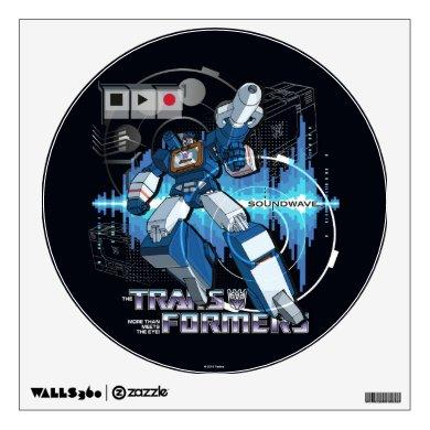 Transformers   Soundwave Iconography Collage Wall Decal