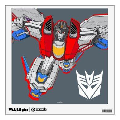 Transformers   Starscream Flying Pose Wall Decal