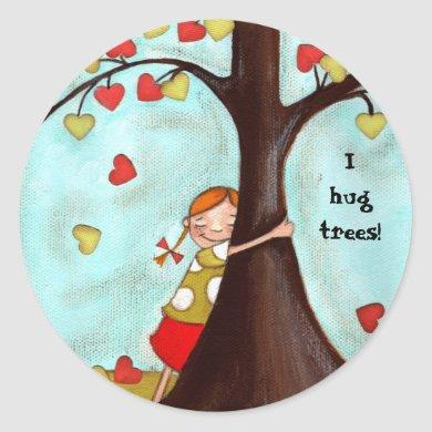 Tree Hugger - Sticker