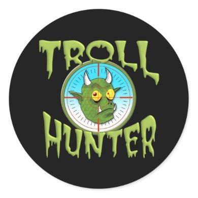 TROLL HUNTER CLASSIC ROUND STICKER
