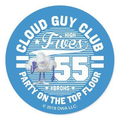 Trolls | Cloud Guy Salute Classic Round Sticker