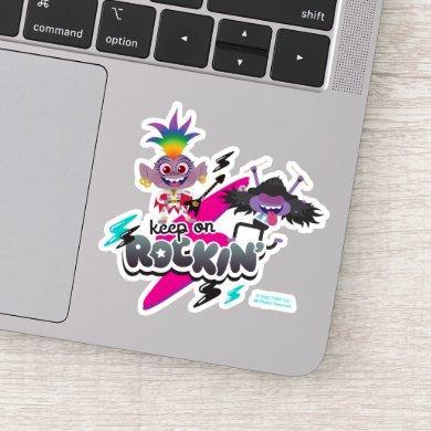 "Trolls World Tour | Barb & Riff ""Keep On Rockin'"" Sticker"