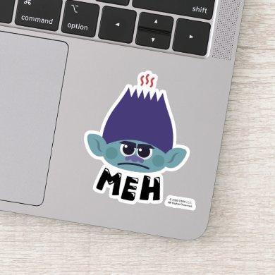 Trolls World Tour | Branch Meh Emoji Sticker