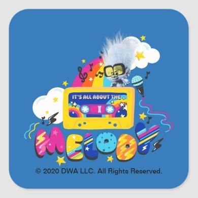 Trolls World Tour | It's All About The Melody Square Sticker