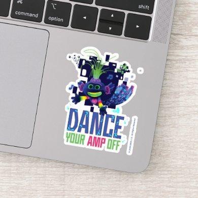 "Trolls World Tour | Trollex ""Dance Your AMP Off"" Sticker"