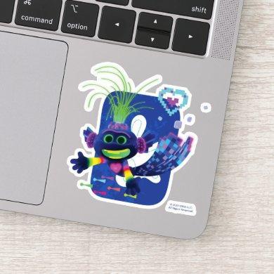 Trolls World Tour | Trollex Swimming Sticker