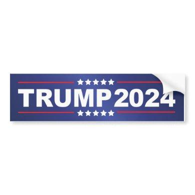 Trump 2024 bumper sticker