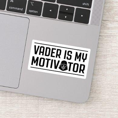 Vader Is My Motivator Sticker