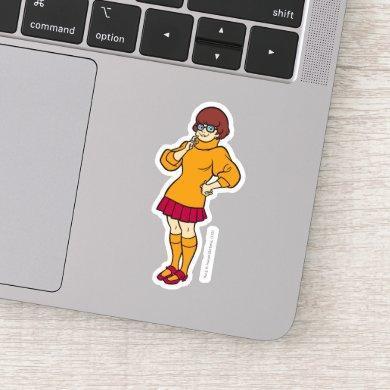 Velma Solves The Case Sticker