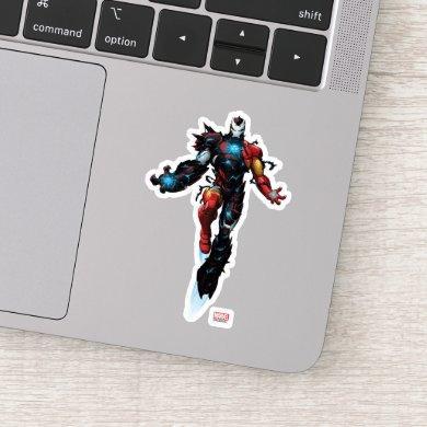 Venomized Iron Man Sticker