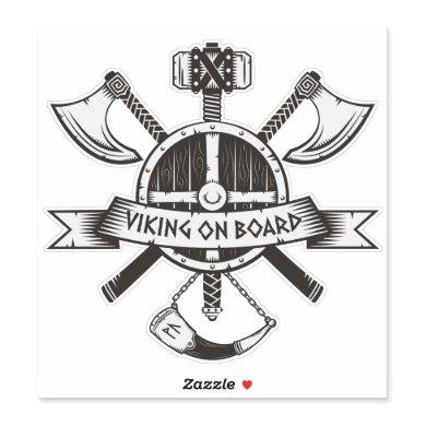 Viking on Board Sticker