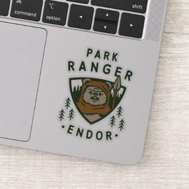 Wicket Park Ranger Graphic Sticker