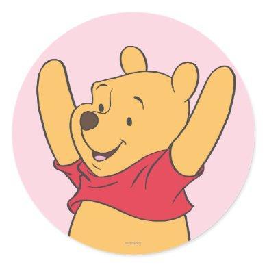 Winnie the Pooh 15 Classic Round Sticker