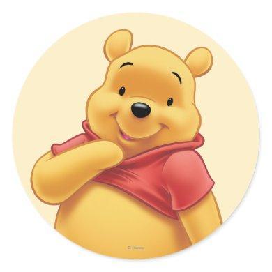 Winnie the Pooh 8 Classic Round Sticker