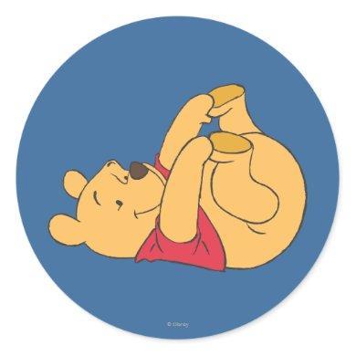 Winnie the Pooh 9 Classic Round Sticker