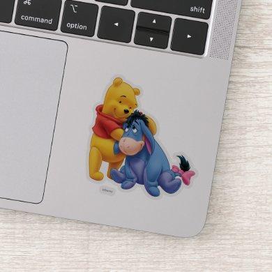 Winnie the Pooh and Eeyore Sticker