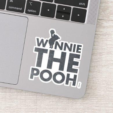Winnie the Pooh Logo Sticker