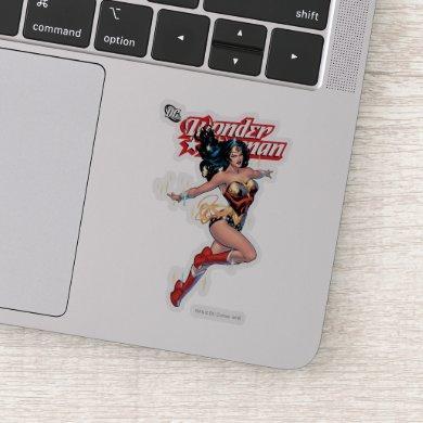 Wonder Woman Comic Cover Sticker