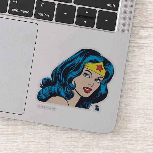 Wonder Woman Face Sticker