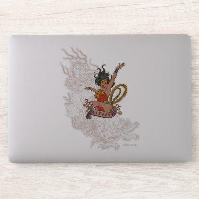 Wonder Woman Goddess Sticker