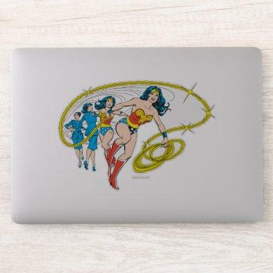 Wonder Woman Transform Sticker