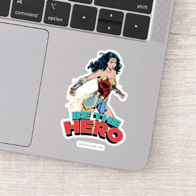 WW84 | Be The Hero Wonder Woman Retro Comic Art Sticker