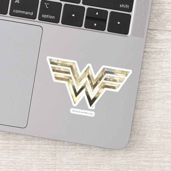 WW84 | Golden Wonder Woman Logo Sticker