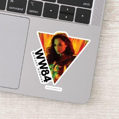 WW84 | Red-Orange Wonder Woman Kaleidoscope Sticker