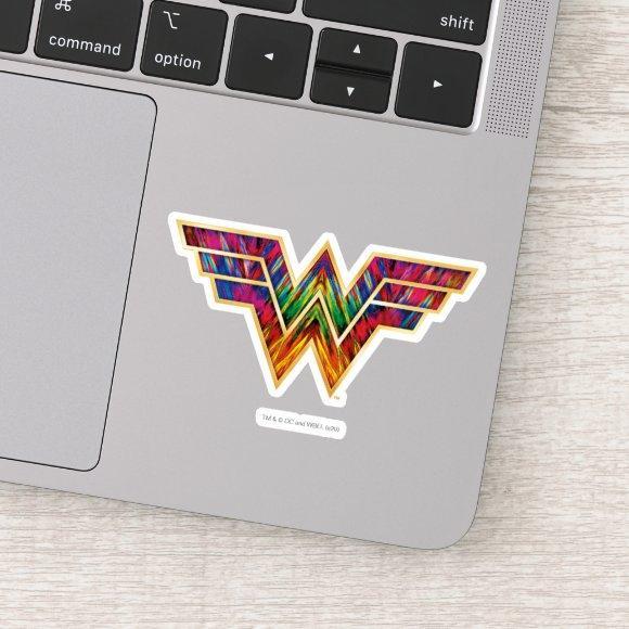 WW84   Wonder Woman Kaleidoscope Logo Sticker