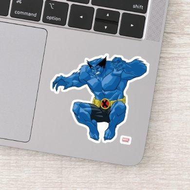 X-Men | Beast Leaping Into Action Sticker