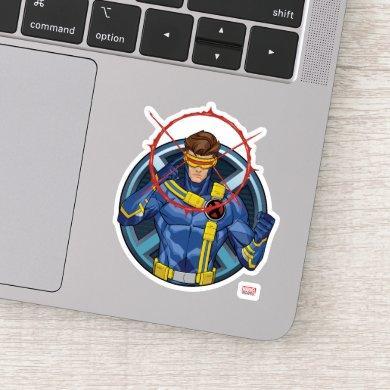 X-Men | Cyclops Character Badge Sticker
