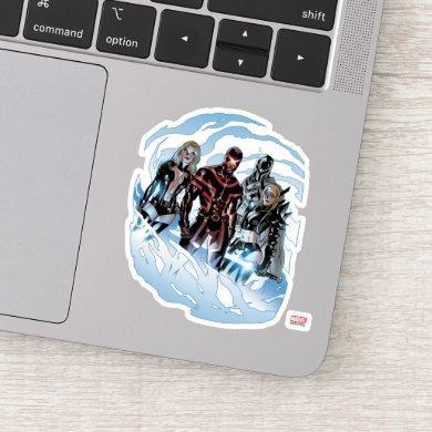 X-Men | Emma Frost, Cyclops, Magneto, & Magik Sticker