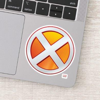 X-Men | Gold and White X Icon Sticker