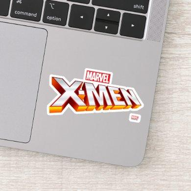 X-Men | Gold and White X-Men Logo Sticker